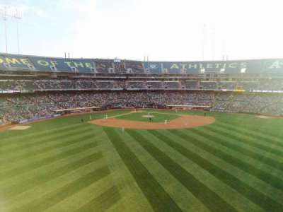 Oakland Alameda Coliseum, section: 245, row: 1, seat: 15