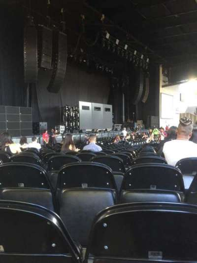 Concord Pavilion, section: 107, row: S, seat: 12