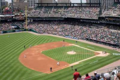 Comerica Park, section: 338, row: 10, seat: 18