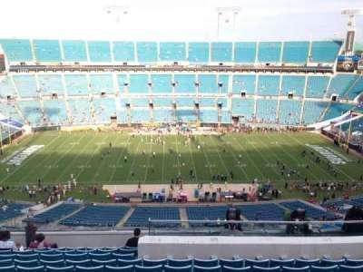 TIAA Bank Field, section: 410, row: M, seat: 24