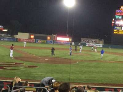 Raley Field, section: 110, row: 8, seat: 8
