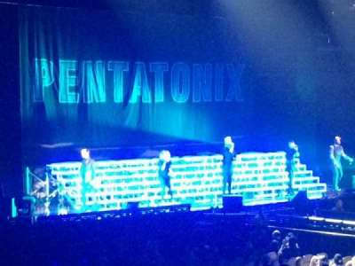 Mandalay Bay Events Center, section: 107, row: K, seat: 5