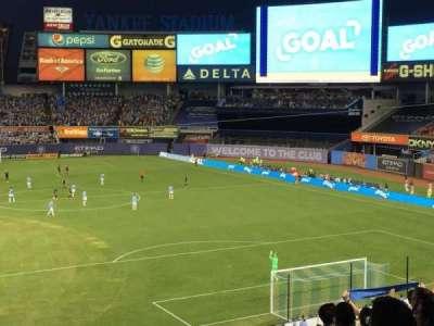 Yankee Stadium, section: 215, row: 10, seat: 1