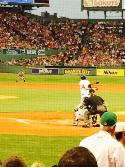 Fenway Park, section: Field box 47, row: K, seat: 6