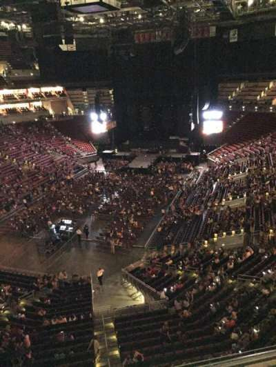 KFC Yum! Center, section: 313, row: A, seat: 11
