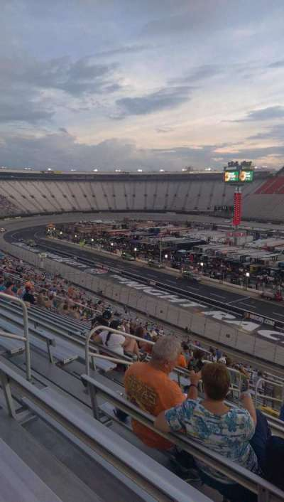 Bristol Motor Speedway, section: Pearson kj, row: 51, seat: 8