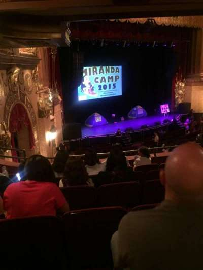 Beacon Theatre, section: Loge 1, row: F, seat: 51