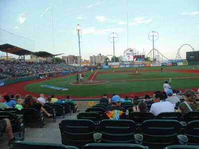MCU Park, section: 8, row: K, seat: 2