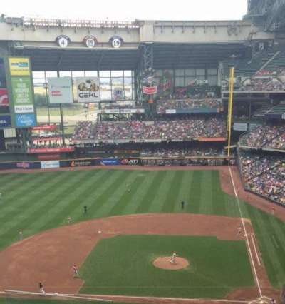 Miller Park, section: Tb427, row: 6, seat: 6