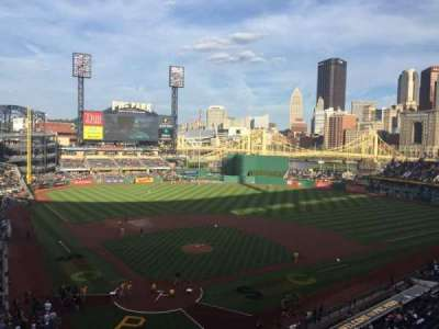 Pnc Park Section 214 Row A Seat 3