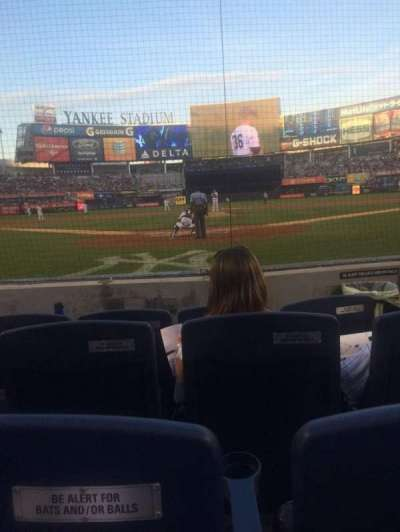 Yankee Stadium, section: 020, row: 4, seat: 3