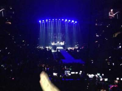 Staples Center, section: 208, row: 3, seat: 9