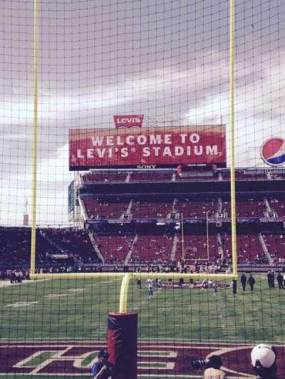 Levi's Stadium section 127