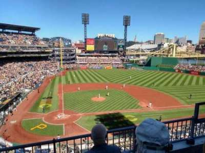 PNC Park, section: 212, row: C, seat: 5