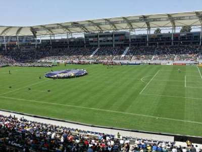 StubHub Center, section: 228, row: BB, seat: 8,9