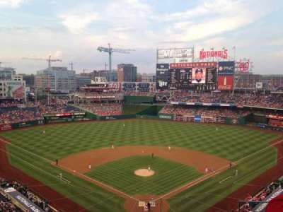 Nationals Park, section: 313, row: D, seat: 3