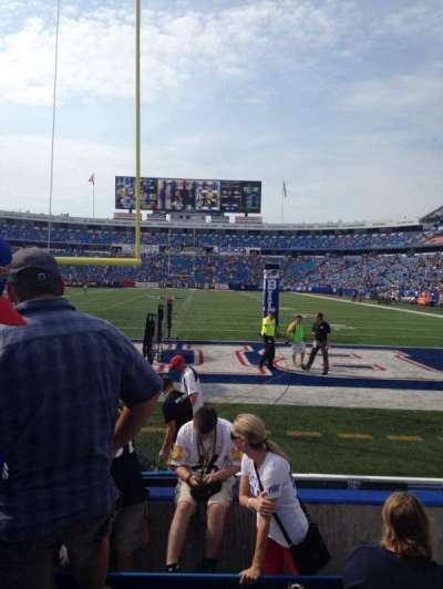 New Era Field, section: 122, row: 6, seat: 6