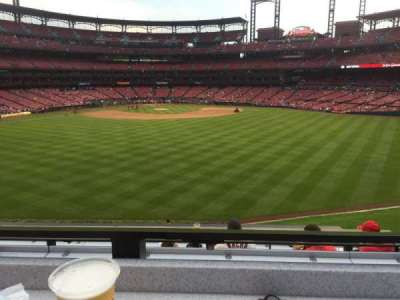 Busch Stadium section SBP