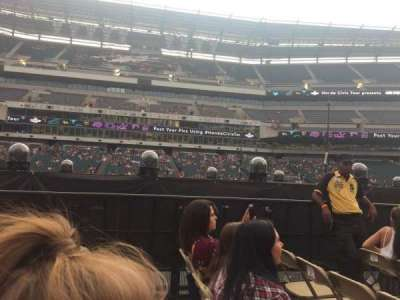Lincoln Financial Field, section: F10, row: 9, seat: 8