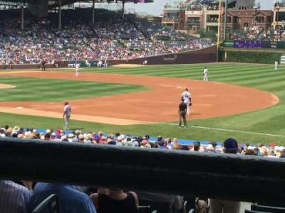 WriglEy Field, section: 235, row: 1, seat: 102