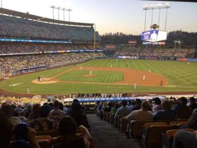 Dodger Stadium section 130lg