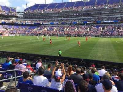 M&T Bank Stadium, section: 151, row: 9, seat: 16