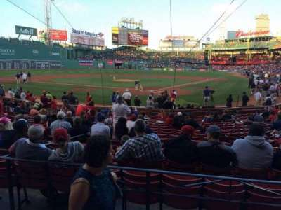 Fenway Park section Loge Box 133