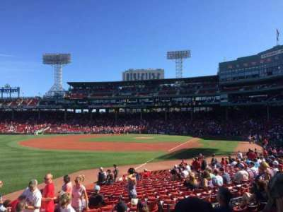 Fenway Park, section: 162, row: GG, seat: 12