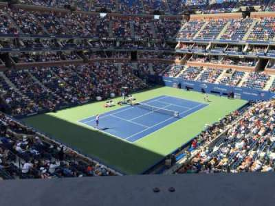 Arthur Ashe Stadium, section: 105, row: A, seat: 1