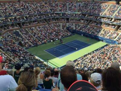 Arthur Ashe Stadium, section: 306, row: K, seat: 15