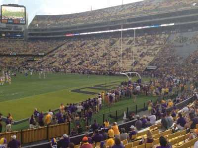 Tiger Stadium, section: 210, row: 1, seat: 17