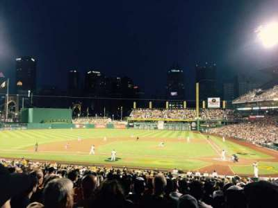 PNC Park, section: 120, row: Q, seat: 7