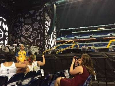 Lucas Oil Stadium, section: C, row: 4, seat: 6