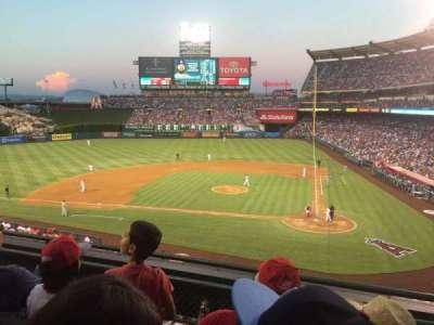 Angel Stadium, section: C321, row: C, seat: 8