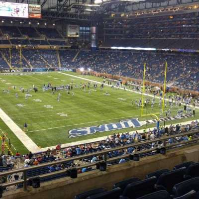Ford Field, section: 140, row: 4, seat: 8