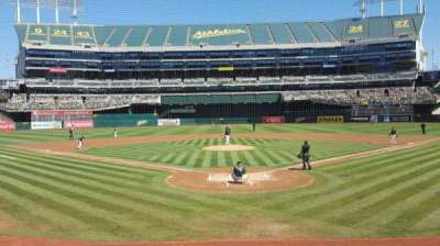 Oakland Alameda Coliseum section 117