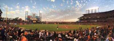 AT&T Park, section: 126, row: 16, seat: 11