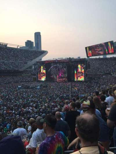 Soldier Field, section: 214, row: 6, seat: 14