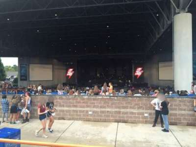 PNC Music Pavilion section 12