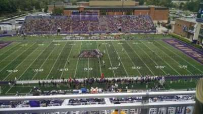 Bridgeforth Stadium, section: 406, row: E, seat: 5