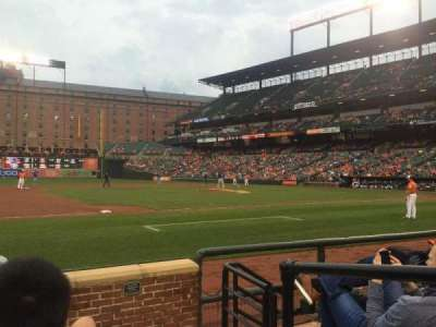Oriole Park at Camden Yards, section: 56, row: 5, seat: 1