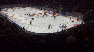 Centre Vidéotron, section: 108, row: UU, seat: 20