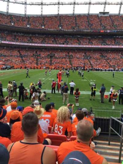 Sports Authority Field at Mile High, section: 126, row: 7, seat: 1