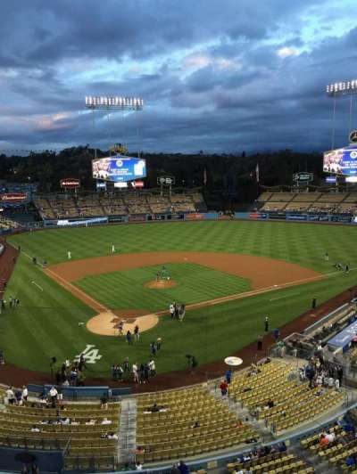Dodger Stadium, section: 4RS, row: A, seat: 7