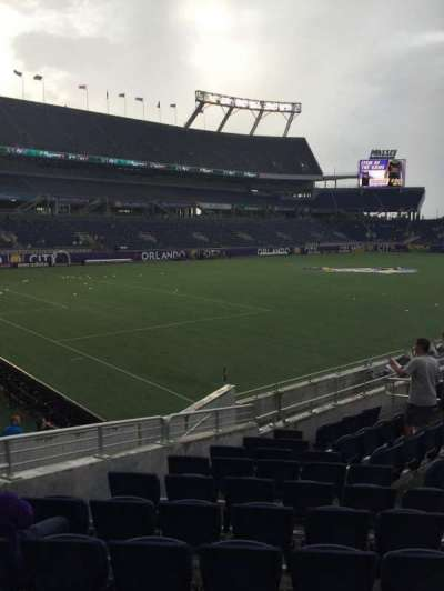 Camping World Stadium, section: 115, row: p, seat: 17-18