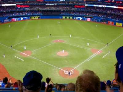 Rogers Centre, section: 524BL, row: 8, seat: 107