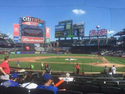 Citi Field, section: 18, row: 15, seat: 10
