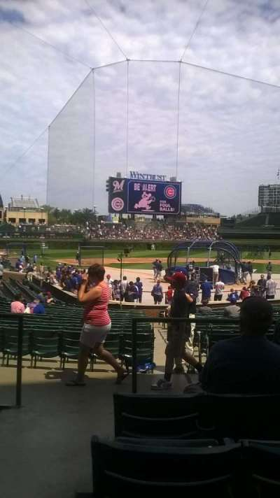 Wrigley Field, section: 122, row: 6, seat: 1