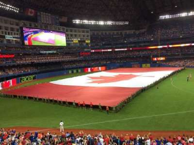 Rogers Centre, section: 235L, row: 1, seat: 1