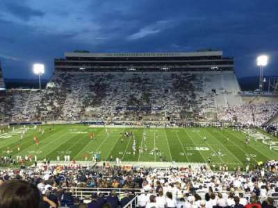 Beaver Stadium, section: WDU, row: 60, seat: 30